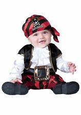 Infant Cap'n Stinker Pirate Costume (missing headband) size Infant 18 months