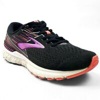 Brooks Adrenaline GTS 19 Womens Running Shoes Sneaker Black Fuschia Sz 8.5 M (B)