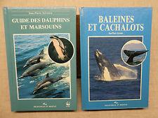 Lot: Baleines et Cachalots + Guide des Dauphins et Marsouins J.-P. Sylvestre