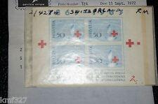 Switzerland 428,VFMNH.Michel Bl.19. Red Cross Centenary,1963