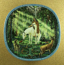 Visions of the Sacred Council Of The Animals Plate #7 Native American Indian
