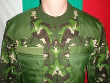 Bulgarian Army Winter PULLOVER Woodland Camouflage SWEATER sz. S to M