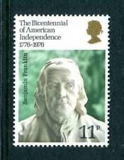 1976 GB American Independence UM. SG 1005