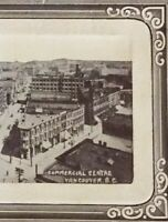 Postcard, Commercial Centre, Nabob Coffee Tea, Vancouver B.C. Canada Vintage P38