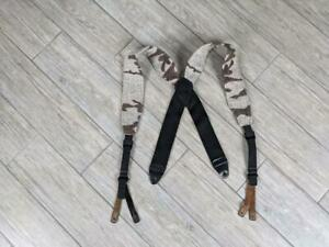 vintage KING OF THE MOUNTAIN suspenders BLOWDOWN camouflage XL hunting  WOOL