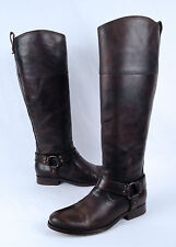 Frye 'Melissa' Harness Boot- Brown Calf- Size 7 B  (B32)
