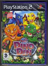 PS2 Buzz Junior: Dino Den (2008), UK Pal, Brand New & Sony Factory Sealed