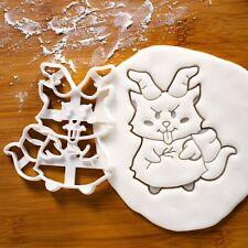 Cute Krampus cookie cutter - Christmas horror goat demon Krampuslauf beast evil