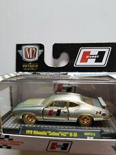 "M2 Machines 1970 Oldsmobile ""Cutlass"" 442 W-30 ""HURST"" ""Raw Super Chase"" 1/250."
