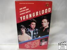 Youngblood VHS Rob Lowe, Patrick Swayze, Cynthia Gibb