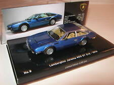 1:43 Lamborghini Jarama 400 GT2+2 blue 1974 436103400 L.E. MINICHAMPS OVP new