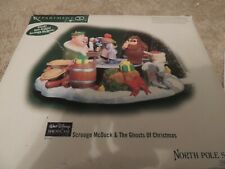 Nib - Dept 56 Disney North Pole Scrooge McDuck & The Ghosts Of Christmas