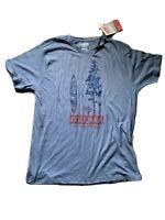 Coleman T-Shirt Men's (medium) Blue