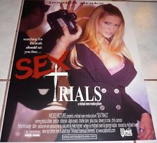 JESSICA DRAKE Rare Vtg Wicked Pictures SEX TRIALS Poster! MINT!