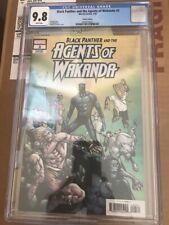 Black Panther and the Agents of Wakanda #3 CGC 9.8 Humberto Ramos variant