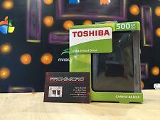 Disque dur externe 2.5'' Toshiba Canvio Basics 500Go USB 3.0 usb 2.0 NEUF
