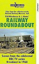 Railway Roundabout 1960 (VHS) ~ Steam Railway VHS Video Tape ~ BBC TV ~ NRM