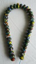 Antique Venetian Round Millefiori African Trade Beads