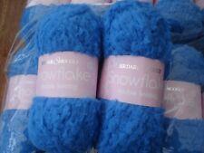 SIRDAR SNUGGLY SNOWFLAKE DK  blue WOOL/YARN - 10 balls