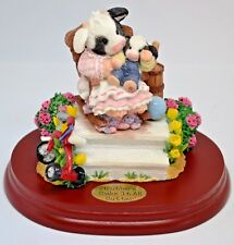 """Mary's Moo Moos """"Mother's Make It All Butter"""" Mother's Day Figurine ~ New"""