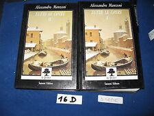 ALESSANDRO MANZONI - TUTTE LE OPERE  2 vol.