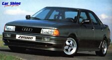 Audi 80 / 90 QUATTRO B3 GENUINE ZENDER FRONT BUMPER SPOILER with FOG LIGHT HOLES