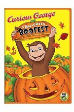CURIOUS GEORGE HALLOWEEN BOO FEST(DVD,New)Great Kids Movie+3 Songs