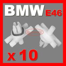 BMW E46 ROOF TRIM MOULDING STRIP CLIPS TOP OF DOOR LEDGE RAIN GUTTER Plastic