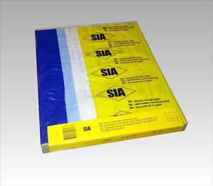 Sis Freecut/Drilube Sanding Sheets 230mm x 280mm 500 Grit - 100 sheets
