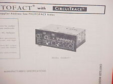 1978 MOPAR CB/AM-FM RADIO SERVICE MANUAL 4048076 4048077 CHRYSLER DODGE PLYMOUTH