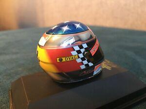 M. Schumacher Chrome Helmet 1/8 Suzuka Japan GP 1998 Rare