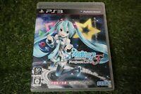 Used SEGA Hatsune Miku Project DIVA F Playstation 3 PS3 japan version from Japan