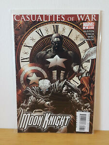MOON KNIGHT # 8 - MARVEL COMICS 2007 - BAGGED AND BOARDED