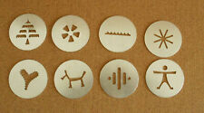 Wearever Super Shooter Model 70001  Set of  8 Replacement Plates Disks