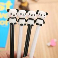 6pcs Cute Cartoon Kawaii Cute Panda Gel Ink Roller Ball Point Pen School Kids