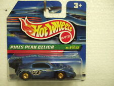 Hotwheels 2000 th9/12 #057 PIKES PEAK CELICA real rider, on short card,