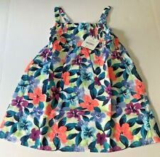 NWT Gymboree Girls Size 5T Floral Maxi Dress Summer Spring Multi Color