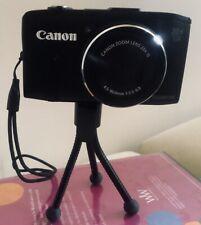 Canon PowerShot SX280 HS 12.1 MP Digital Camera Wi-Fi w/batteries, mini-tripod