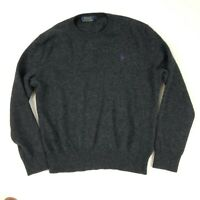 Polo Ralph Lauren Jumper Merino Wool Grey Medium