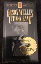 Orson Welles Citizen Kane, VHS, 50th Anniversary Edition, 1991, B&W