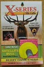 Berry Game Calls X-Series Satellite Bull Reed X-2 Elk Hunting NEW