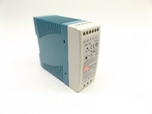 MEAN WELL MDR-40-24 POWER SUPPLY SWITCHED MODE, INPUT 100-240VAC 1.1A 50/60Hz