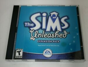 The Sims Unleashed Expansion Pack Pets PC CD-ROM 2 Disc Windows 95 98 XP Maxis
