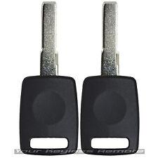 2 Transponder Chip Keys Ignition Transponder For Audi TT Q5 Q7 A4 S4 A3 A6