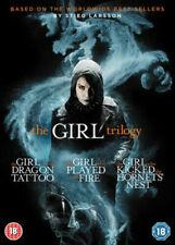 The Girl Trilogy 5055744700193 DVD Region 2 P H