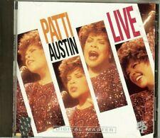 PATTI AUSTIN - LIVE - CD - NEW - SEALED