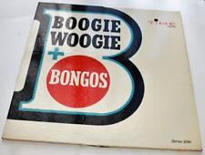 Hugo Montenegro Boogie Woogie + Bongos 1962 Time 52020 Jazz 33rpm LP VG+