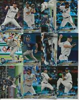 SAN DIEGO PADRES 2018 Topps Series 2 RAINBOW FOIL TEAM SET (12 Cards)