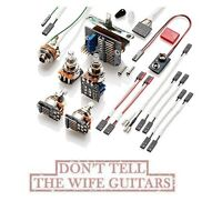 EMG Solderless Conversion Wiring Kit For 3 Pickups w/ Switch & PPP Push/Pull Pot