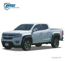 """Extension Textured Fender Flares Fits Chevrolet Colorado 15-20 ;5'1"""" Bed Only"""